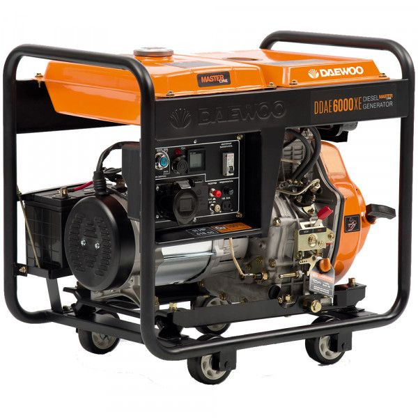 Generador Daewoo 6.2 KVA DDAE6000XE