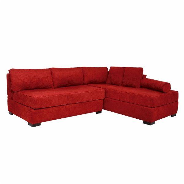 Sofa Esquinero Praga Rojo